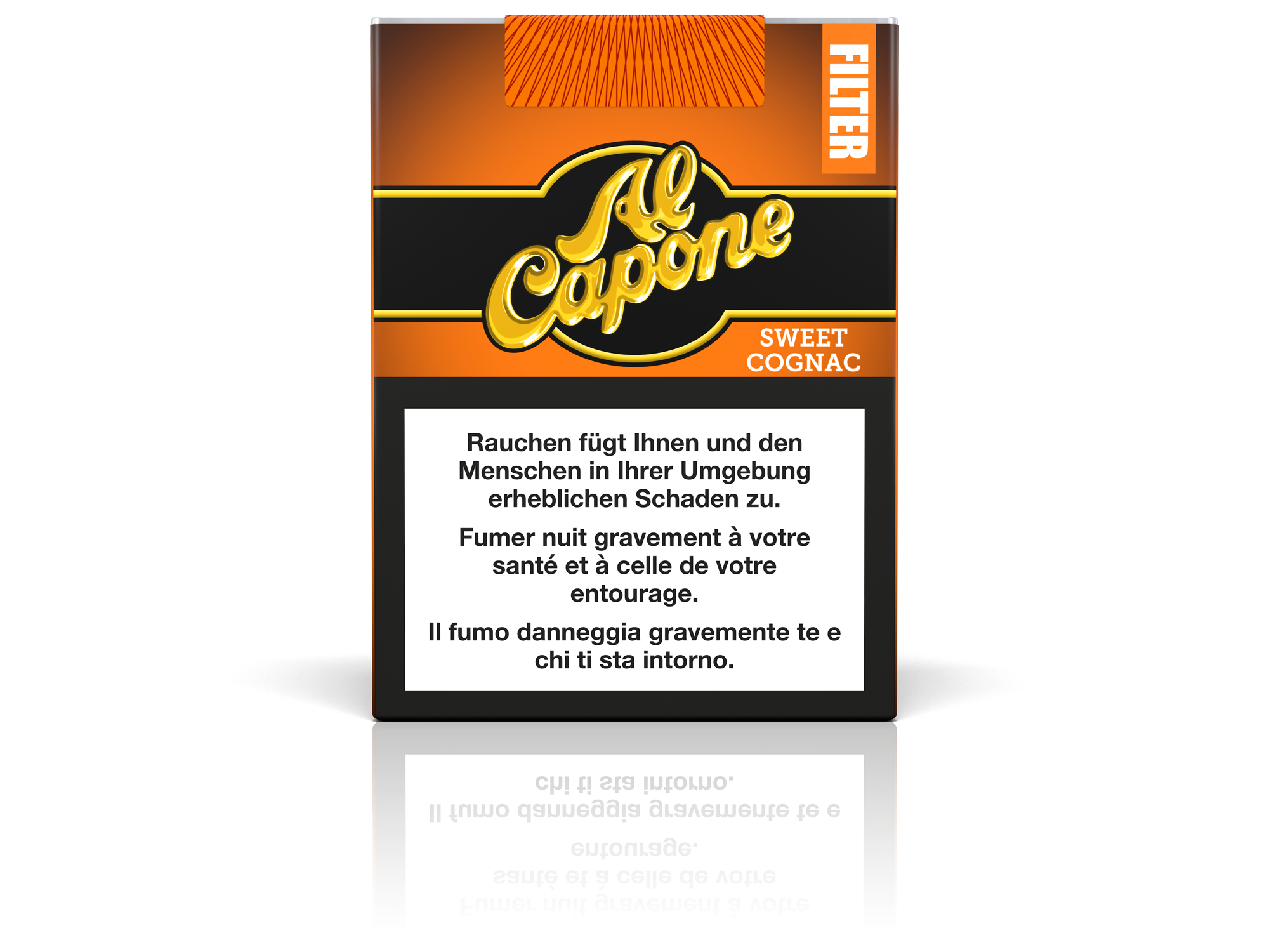 Image of Al Capone Pocket Filter Sweet Cognac 18